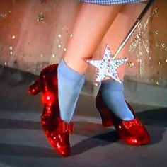 Just had to pin Dorothy's Ruby Red Slippers for Valentine's Day♥