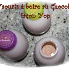 Recette Yaourts à boire au chocolat façon Yop à la Multidélices
