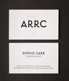 The simplicity is striking but I wonder if it would work as well without the letterpress