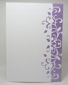 Swirly Edged Card, Scan N Cut, .fcm
