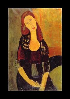 """""""When I know your soul, I will paint your eyes"""" - #Modigliani, who was born this day in 1884."""