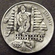 Very Helpful Gold Strategies For gold bullion for sale Hobo Nickel, Coin Art, American Coins, Old Money, Gold Bullion, Rare Coins, Coin Collecting, Silver Coins, Art Forms