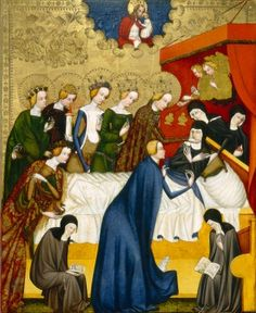 Master of Heiligenkreuz The Death of Saint Clare, c. 1400-1410 Samuel H. Kress Collection 1952.5.83