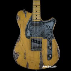 Wild Custom Guitars Wild-TV in Butterscotch Ultra Relic | Rebel Guitars