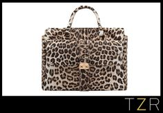 Mulberry Harriet Tote in Marshmallow White Spotted Haircalf, $4000.  Pretty much the cat's meow!
