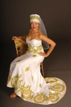 Liberian traditional wedding dresses