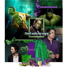[Avengers Assemble Challenge] 7.Hulk/Bruce Banner + [hot boys] 73. Mark Ruffalo, created by ruhpattinsonleto on Polyvore