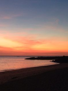 Dundee Beach sunset.