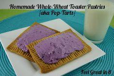 Healthy Homemade Toaster Pastries {i.e. Pop Tarts}