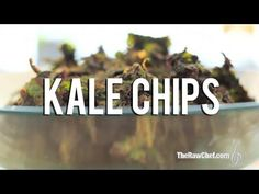 Raw Food Recipe: Spicy BBQ Kale Chips