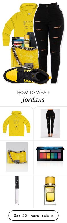 """"""""""" by kakoproduction on Polyvore featuring Smashbox, NARS Cosmetics, Dolce&Gabbana and Chanel"""