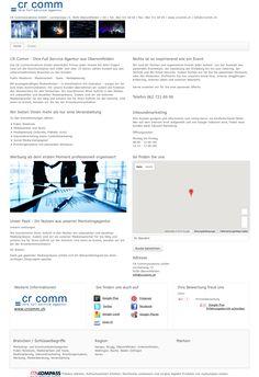 CR Communications GmbH, Oberentfelden, Marketing- und Kommunikationsagentur, Public Relations, Medienarbeit und Texte