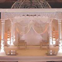 White Palace Wedding Mandaps, spider india mandap