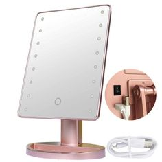 RightOn Lighted Makeup Mirror with LED Lights -Touchscree. Amazon Christmas Gifts, Diy Christmas Gifts For Boyfriend, Creative Christmas Gifts, Diy Holiday Gifts, Christmas Gifts For Friends, Boyfriend Gifts, First Christmas Photos, Christmas Ideas, Xmas