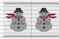 Stitch this cute snowman smocking design for your little one.