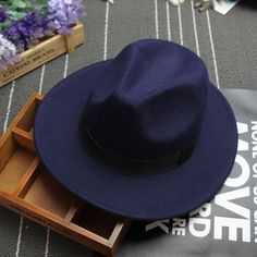 Wide Brimmed Fedora Hats For Women 2016 Winter Edition!
