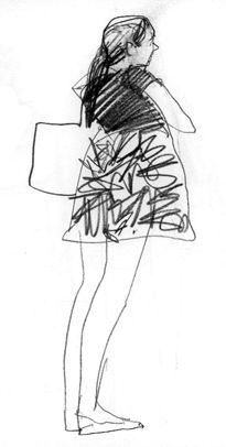 New York Geschichte - Greg Betza - # - # Life Drawing, Figure Drawing, Painting & Drawing, Art Postal, Observational Drawing, Art Plastique, Art Sketchbook, Drawing People, Art Inspo