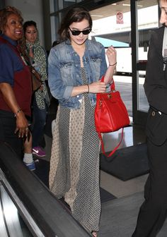 91 Style Tips to Steal From the Airport s Best Dressed Celebs 9d1dc73a2e8c6