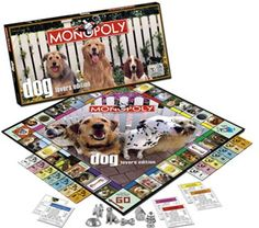 Dog Lovers Edition Monopoly