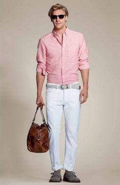 Salmon-colored herringbone blazer | Men's Fashion | Menswear ...
