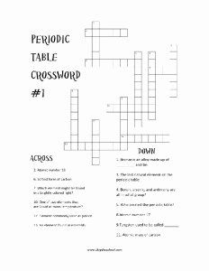 50 Periodic Table Puzzle Worksheet Answers In 2020 Persuasive
