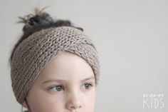 Twisted Knit Headband For Girls various color by kokokoshop, $27.00