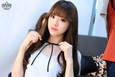 Oh my girl JinE re-pinned by jinsimiya