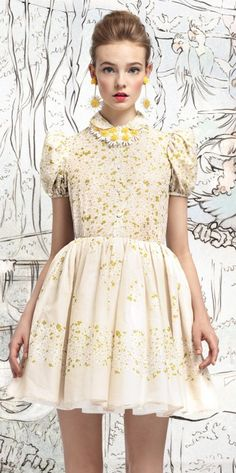 Otome Inspiration: Red Valentino S/S 2013