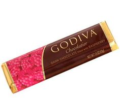 Stocking Stuffer/Small Gift Idea - Godiva Raspberry Filled Dark Chocolate Bar.  These can usually be found at Kohl's up by the registers.