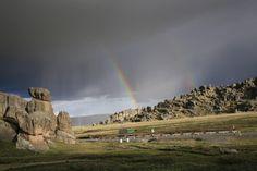 Bosque de piedras Huayllay en Cerro de Pasco - Perú