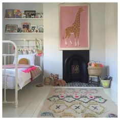 Little girl's bedroom by Lisa Mehydene of Edit58. Adore this.