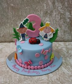 ben and holly cake ideas - Google Search