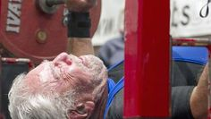 91 Year Old Breaks Bench Press World Record