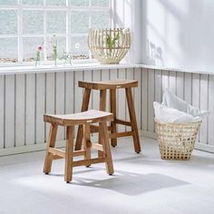 Hocker Carrie Teak Teak Hocker Und Hocker Holz