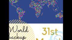 IT POMOC World backup day World Backup Day, Decor, Decoration, Decorating, Deco