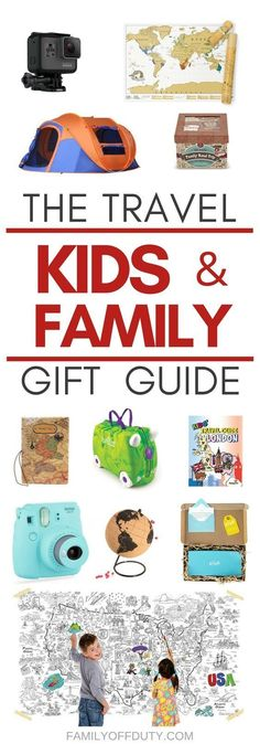 The The best gift guide for the travel family. Gift ideas for adventurous moms, dads and kids but also family collective ideas. The ultimate #familytravel holiday gift list features 25+ awesome items including games, educational toys and experiences, gadgets, outdoor travel and adventure gifts. This list will help you gift presents that are essential and will make travel a lot easier, safer, comfortable and more enjoyable!