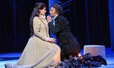 Anja Harteros and Jonas Kaufmann in Don Carlo at the Royal Opera House, London.