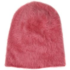 ANDREA POMPILIO Rabbit Fur Beanie Hat (855 ARS) ❤ liked on Polyvore featuring accessories, hats, beanies, rabbit fur hat, beanie cap hat, rabbit hat, beanie caps and beanie hats