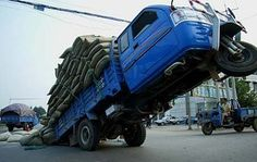 Truck in China