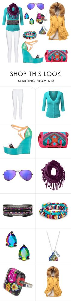 """""""Untitled #772"""" by mentalterrorist on Polyvore featuring 10 Crosby Derek Lam, J.TOMSON, Christian Louboutin, Nicole Lee, Ray-Ban, prAna, Isabel Marant, Shashi, Kate Spade and Hershey's"""