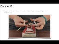 www.EfficientLifeSkills.com presents the easiest, quickest, and coolest way to teach your child to tie shoes. Check it out...this will blow your mind!