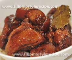 Chicken Pork Adobo Recipe