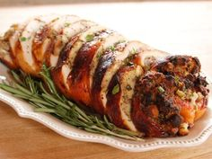 Get Turkey Roulade Recipe from Food Network