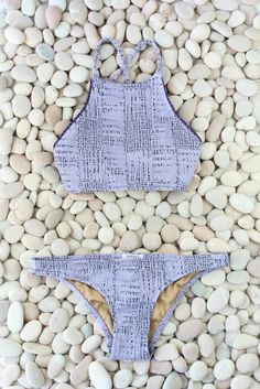 Made by dawn high neck bikini Coral Bikini, Polka Dot Bikini, Bikini Set, Summer Suits, Summer Wear, Summer Time, Made By Dawn, Looks Pinterest, Bathing Suits