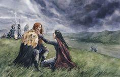 After Nirnaeth Arnoediad by Filat (Maedhros and Maglor)