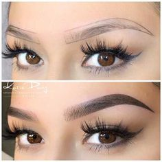 BOOK KATIE | Advance Microblading Best Eyebrow Makeup, Eyebrow Game, Best Eyebrow Products, Skin Makeup, Maquillage Permanent Eye Liner, Permanent Makeup Eyebrows, Mircoblading Eyebrows, Eyebrow Tattoo, Eyebrow Shading