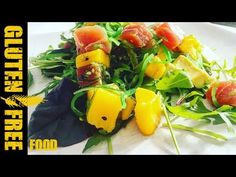 How to make mango poke salad – gluten free recipe – All Recipes Food Cooking Network Poke Salad, Cooking Network, Mango, Gluten Free Recipes, Allrecipes, Free Food, Cooking Recipes, Stuffed Peppers, Make It Yourself