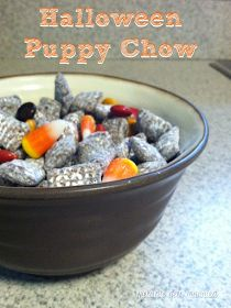 Melanie Gets Married: Halloween Puppy Chow