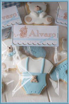 GALLETAS NACIMIENTO PARA ALVARO | Tartas Fondant Zaragoza - Cooking Art