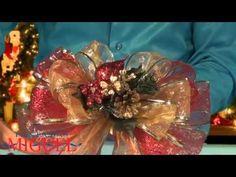 moos flores nochebuena de navidad en cintas de organza brillante youtube